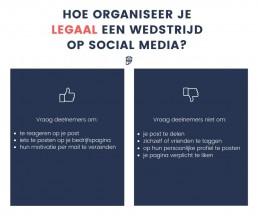 Wat mag wel en wat mag niet bij een wedstrijd op sociale media
